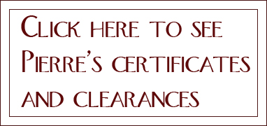 Pierrs_certificates_and_clearances